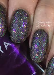 mardi gras nail ehmkay nails mardi gras nail festive layered sting