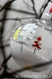 snow and trees ornament ornament epsom salt and snow