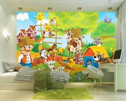 online get cheap modern farming aliexpress com alibaba group beibehang senior wall wallpaper fashion modern simple picture happy farm children room background wall papel de