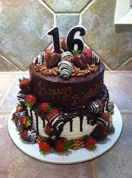 Black Amp White Chocolate Covered Best 25 Strawberry Birthday Cake Ideas On Pinterest Strawberry