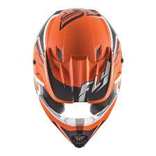 white motocross helmet fly racing 2016 kinetic fullspeed matt orange black white