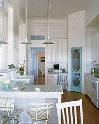 Coastal Living Kitchen - whitehaven beach house kitchens