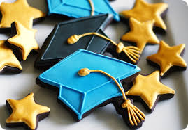 graduation cookies gold for you grad bake at 350