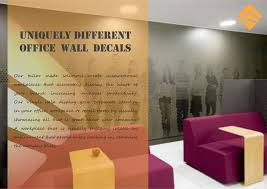 trinity wall stickers make office space more brighten with trinity customized decals