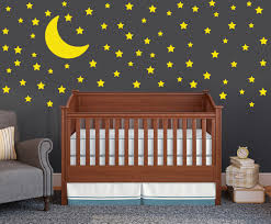 moon and stars wall decal set childrens wall decals 75 star moon and stars wall decal set childrens wall decals 75 star decals moon wall sticker nursery wall decal set neutral nursery decors