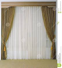 Large Drapery Tassels Beautiful Curtain And Tassels Stock Photography Image 25557742