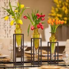 Yellow Glass Vase Danya B Vases Vases U0026 Decorative Bottles The Home Depot