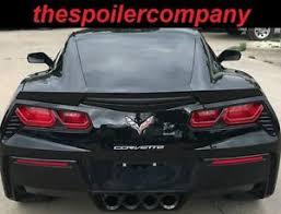 corvette wing for chevrolet corvette c7 painted factory style rear spoiler wing
