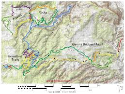 Map Of Moab Utah by Gjhikes Com Little Canyon