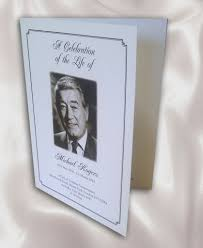 funeral booklets funeral order of service booklet printing