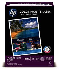hp color inkjet paper 8 1 2