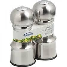 trudeau accessoires cuisine saliere et poivriere fini inox de trudeau 0714096 fournitures de