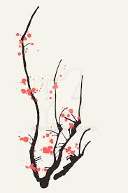 sakura interior design print by guava on deviantart