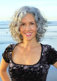 stylish cuts for gray hair best 25 curly gray hair ideas on pinterest why grey hair is