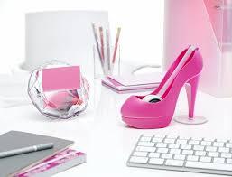 Pink Desk Accessories Set Brilliant Girly Desk Accessories Roselawnlutheran For Pink Desk