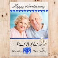 65th wedding anniversary gifts 65th wedding anniversary gifts awesome personalised sapphire 65th