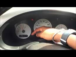 dodge caravan check engine light how to check codes on your 2001 2007 dodge caravan without obd2