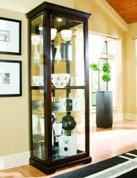 chocolate cherry curio cabinet by pulaski furniture pulaski