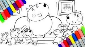 Peppa Pig Sofa by Voving Coloring Pages Viyoutube Com