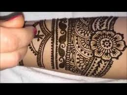 bellas mehndi berlin full arm henna design tutorial youtube