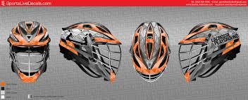 custom motocross helmet wraps lacrosse wraps
