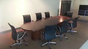 12 ft conference table kent series 12 ft conference table w encore leather seating