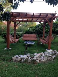 Firepit Swing Excellent Diy Project Porch Swings Pit Ideas Onechitecture