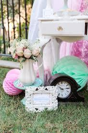 Alice In Wonderland Decoration Ideas Kara U0027s Party Ideas Shabby Chic Alice In Wonderland Birthday Party
