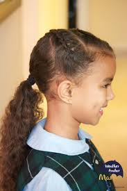 Little Girls Ponytail Hairstyles by Curly Hairstyle Of The Week Dutch Braids Into A Ponytail