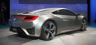 honda supercar concept detroit 2012 honda nsx concept