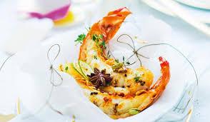 cuisiner des queues de langouste 1 queue de langouste blanche caraïbes crue surgelés les