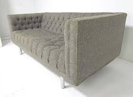 Furniture Jack Cartwright Furniture Home by Mid Century Jack Cartwright Tufted Chesterfield Tuxedo Settee Sofa