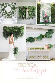 wedding backdrop ideas 2017 tropical wedding backdrop ideas for a destination wedding barbados