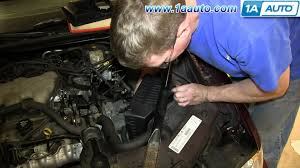 how to install replace air intake box 2000 05 chevy monte carlo