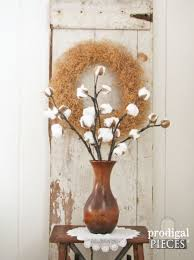 Decorative Sticks For Floor Vases Cotton Branches Diy Farmhouse Decor Prodigal Pieces
