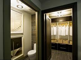 Small Walk In Closet With Bathroom House Design Ideas - Bathroom closet design