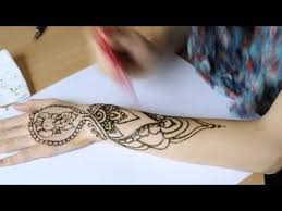 ganesha henna art youtube