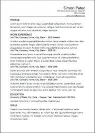 Resume Templates Open Office Open Office Resume Builder Template Design