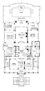 mediterranean style house plan 5 beds 6 5 baths 7211 sq ft plan