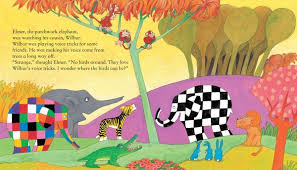 Elmer The Patchwork Elephant Story - nonfiction and fiction books and digital content for children
