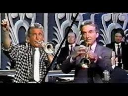 two of johnny carson asking doc severinsen for his highest