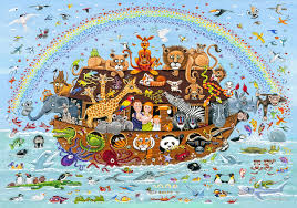 noah u0027s ark wooden jigsaw 40 50 piece children u0027s puzzles