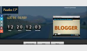 landing page templates for blogger fresher landing page blogger templates kaizentemplate rebuild