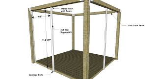 Diy Furniture Plans by Diy Furniture Plans How To Build A Staycation Pergola The