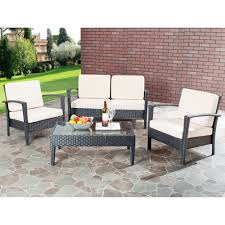 Resin Wicker Patio Furniture Clearance Exterior Outdoor Lounge Chairs Clearance With Patio Furniture
