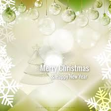 green christmas ornament background image 123freevectors