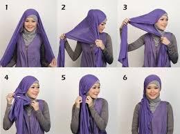 tutorial hijab pashmina kaos yang simple tutorial hijab pashmina kaos polos untuk anak muda arenawanita com