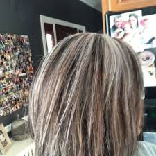 highlights to hide greyhair cute hair tips and best highlights to hide gray dark brown hairs