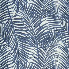 thibaut west palm wallpaper in blue and white