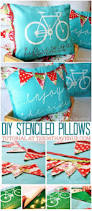 339 best home decor images on pinterest farmhouse style live diy stenciled pillow tutorial at the36thavenue com pin it now and make them later
